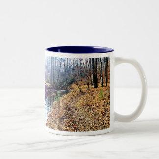 Para el amor de caminar tazas de café