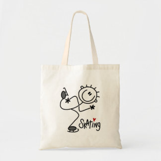 Para el amor de camisetas y de regalos patinadores bolsa de mano