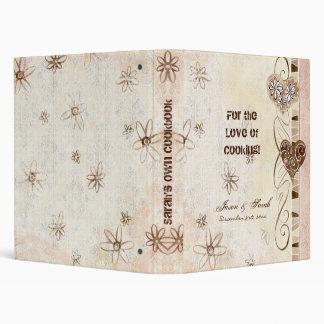 """Para el amor de cocinar, lazo del libro de cocina  carpeta 1"""""""