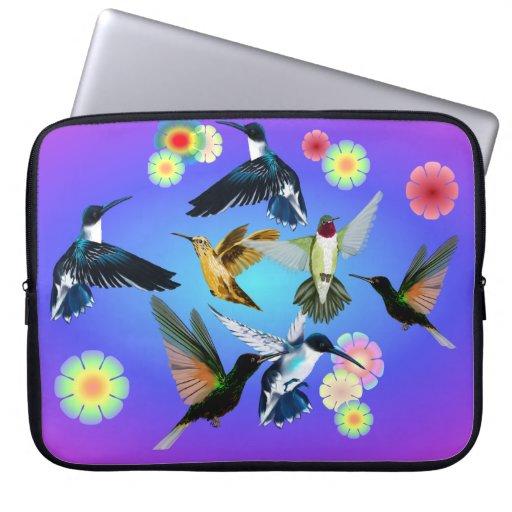Para el amor de colibríes fundas portátiles