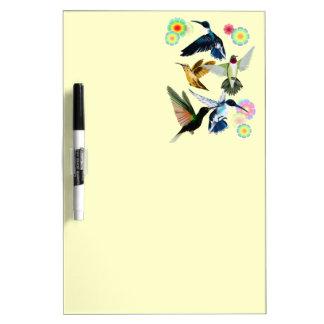 Para el amor de colibríes pizarras