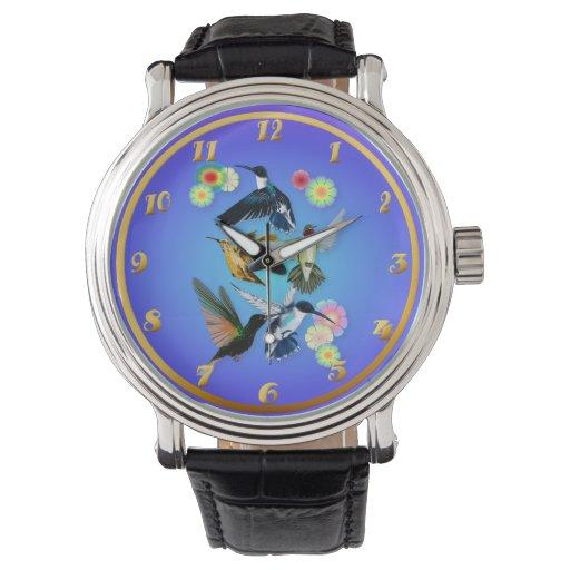 Para el amor de colibríes relojes de pulsera