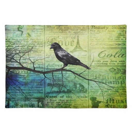 Para el amor de cuervos mantel individual