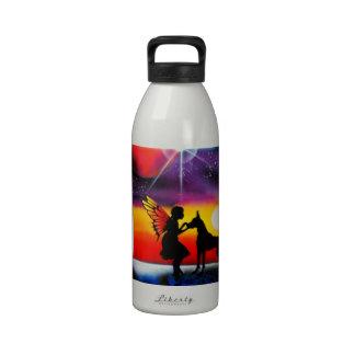 Para el amor de great dane botella de agua