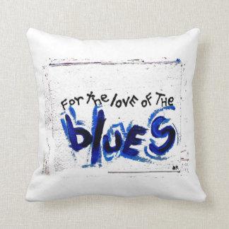 para el amor de los azules cojines