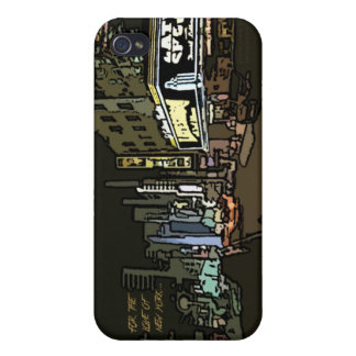 Para el amor de NYC iPhone 4 Funda