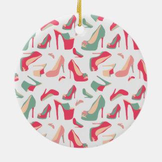 Para el amor de zapatos ornaments para arbol de navidad