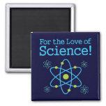 Para el amor del átomo de la ciencia imán para frigorifico