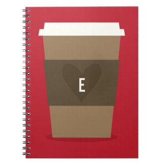Para el amor del café spiral notebooks