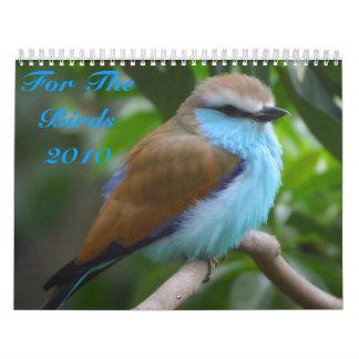 Para el calendario de los pájaros 2010