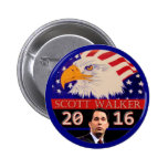 Para el caminante de presidente en 2016 Scott Pin Redondo De 2 Pulgadas