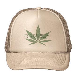 Para el casquillo no medicinal de los propósitos s gorra