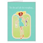Para el chica que tiene todo tarjeta de cumpleaños