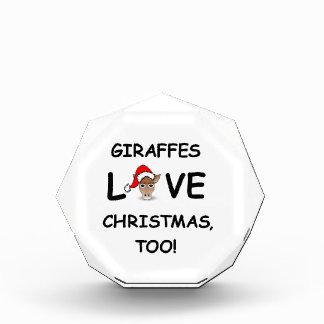 ¡Para el colector de la JIRAFA para el navidad