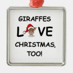 ¡Para el colector de la JIRAFA para el navidad! Adorno