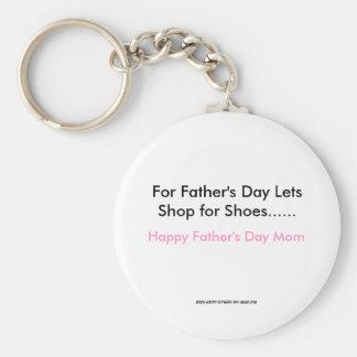 Para el día de padre deja la tienda para los zapat llavero redondo tipo pin