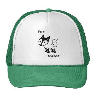 Para el gorra del camionero del motivo del Fox
