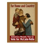 Para el hogar y el país - postal