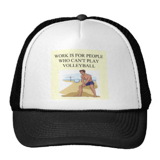 para el jugador de voleibol gorras