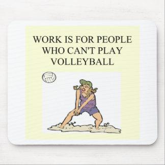 para el jugador de voleibol tapetes de ratones