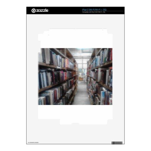 Para el lector en usted iPad 2 calcomanía