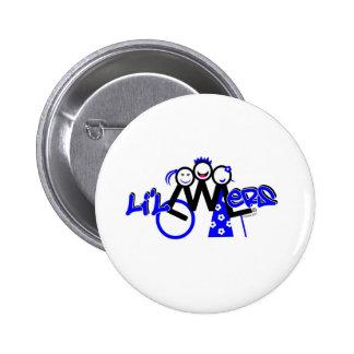 Para el L'il LWLers Pin Redondo De 2 Pulgadas