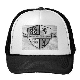 Para el logotipo blanco y negro del rey y del país gorras