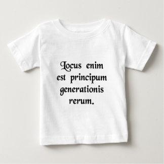 Para el lugar es el origen de cosas tee shirts