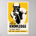 Para el mayor conocimiento posters