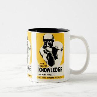 Para el mayor conocimiento taza