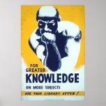 Para el mayor conocimiento - utilice su biblioteca impresiones