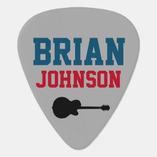 para el mejor guitarrista púa de guitarra
