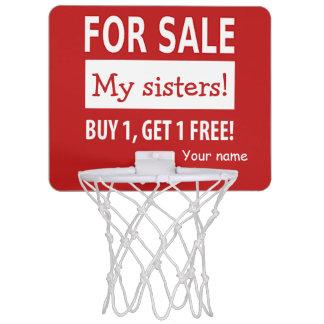 Para el mini aro de baloncesto de la venta minicanasta