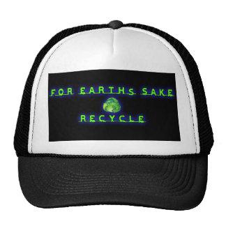 Para el motivo de Earht, recicle Gorros Bordados