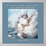 Para él ordenará sus ángeles referentes a le posters