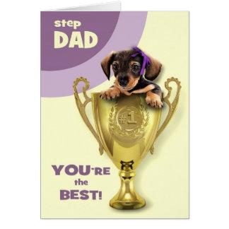 Para el padrastro en las tarjetas de felicitación