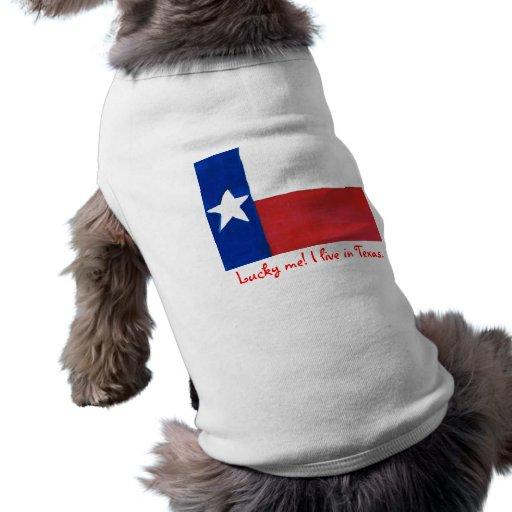 Para el perro de Tejas Playera Sin Mangas Para Perro
