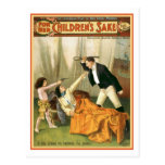 Para el poster del teatro del vintage del motivo d tarjetas postales