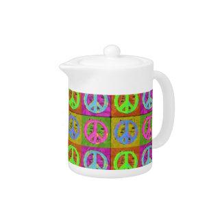 PARA el pote del té de la PAZ