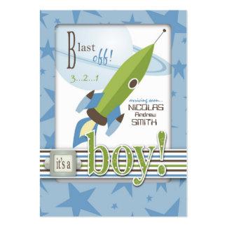 Para el recordatorio Notecard del bebé Plantillas De Tarjeta De Negocio