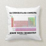 Para entender cocinar sepa su química cojines