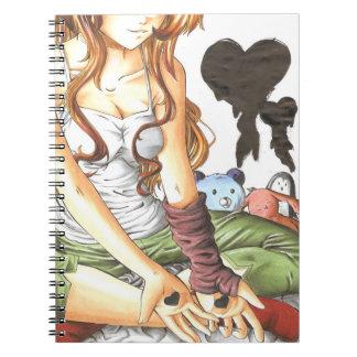 Para escribir amor en sus brazos notebook