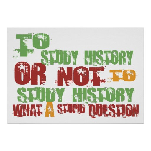 Para estudiar historia impresiones
