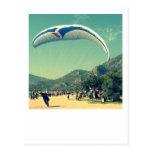 Para Glider Landing Postcard