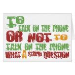 Para hablar en el teléfono felicitaciones
