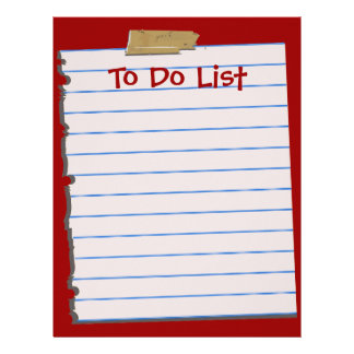 Para hacer el papel con membrete de la lista membrete
