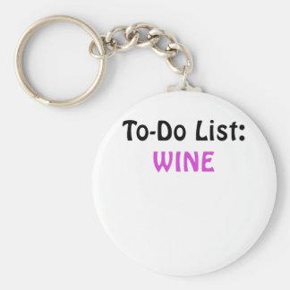 Para hacer el vino de la lista llavero redondo tipo pin