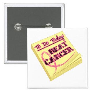 Para hacer hoy - al cáncer de pecho del golpe pin