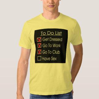 para hacer la lista camisas