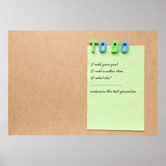 PARA HACER la lista - personalizar con sus propios Poster
